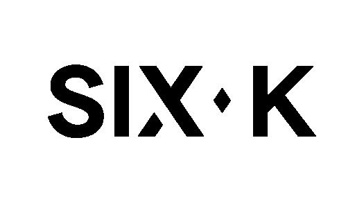 Six K - Logo - Black